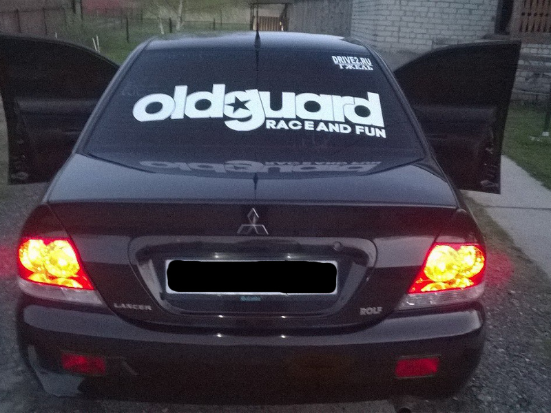 Реклама на автомобиле